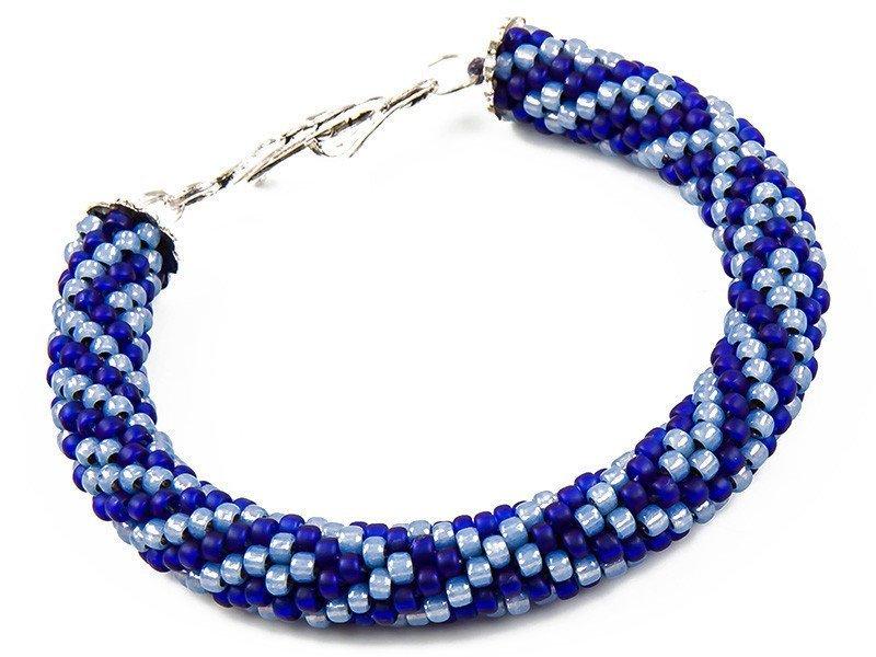 BRANSOLETKA BLUE AZTEC